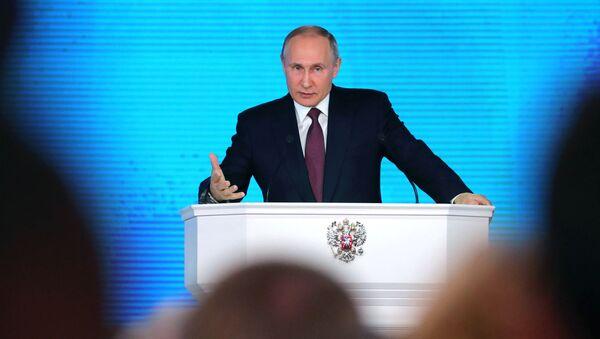 Rusya devlet başkanı adayı Vladimir Putin - Sputnik Türkiye