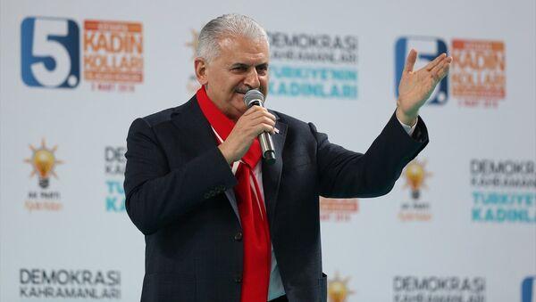 AK Parti Genel Başkanvekili ve Başbakan Binali Yıldırım - Sputnik Türkiye