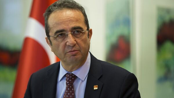 CHP Sözcüsü Bülent Tezcan - Sputnik Türkiye