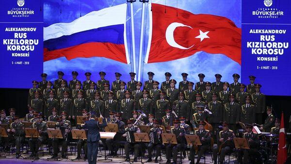 Kızıl Ordu Korosu İstanbul'da konser verdi - Sputnik Türkiye