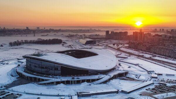 2018 Dünya Kupası maçlarına ev sahipliği yapacak Kazan Arena - Sputnik Türkiye