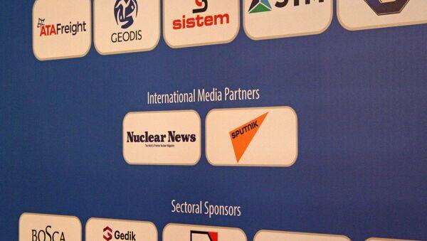 Medya partnerliğini Sputnik'in üstlendiği Uluslararası Nükleer Santraller Zirvesi ve Fuarı'ndan görüntüler. - Sputnik Türkiye