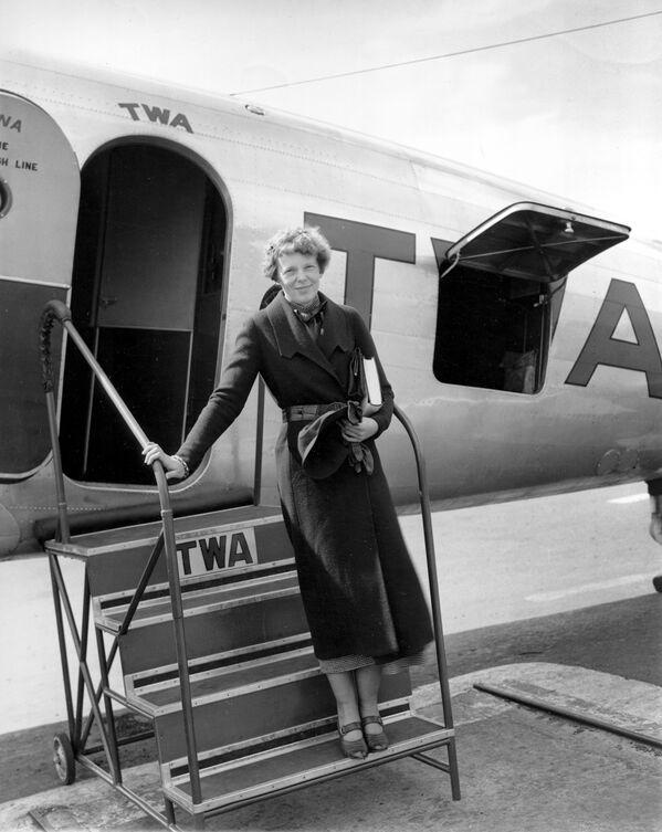 Amelia Earhart - Sputnik Türkiye
