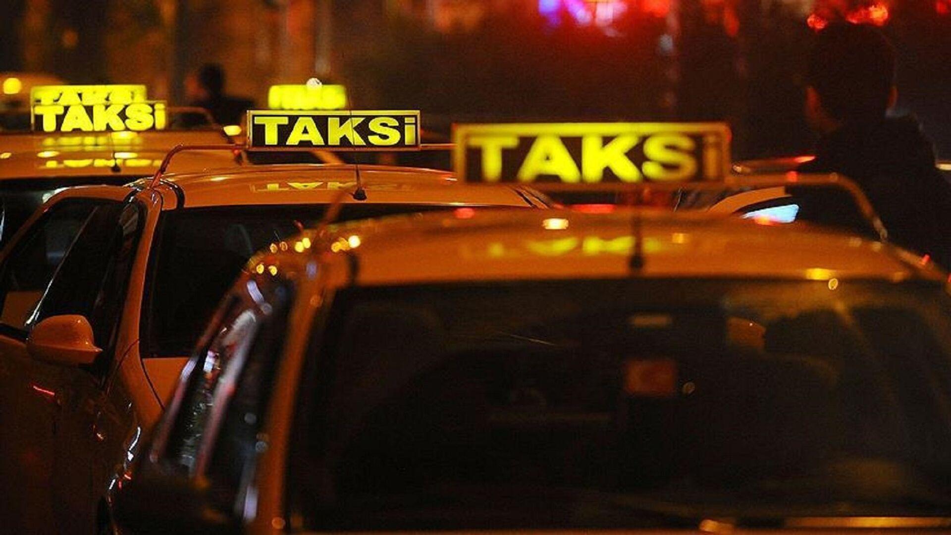 Taksi - Sputnik Türkiye, 1920, 30.08.2021