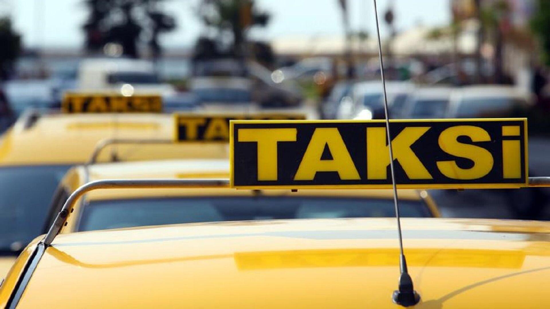 Taksi - Sputnik Türkiye, 1920, 15.08.2021