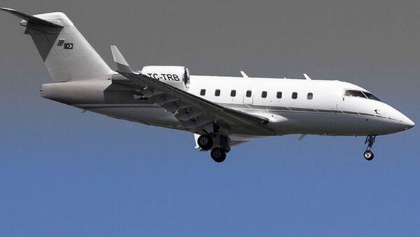 TC-TRB tescilli Bombardier Challenger 604 tipi iş jeti - Sputnik Türkiye