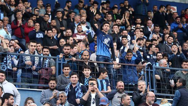 taraftar, futbol, maç, tribün - Sputnik Türkiye
