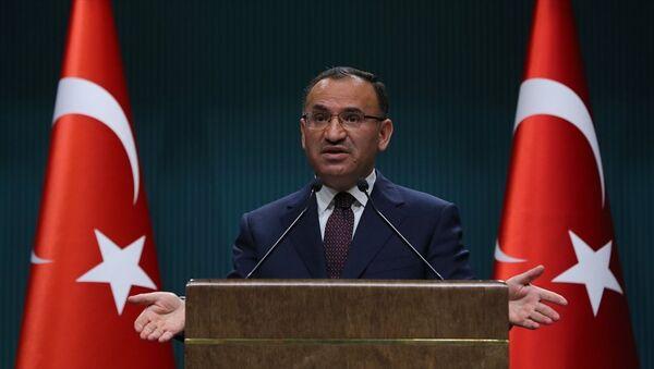 Başbakan Yardımcısı ve Hükümet Sözcüsü Bekir Bozdağ - Sputnik Türkiye
