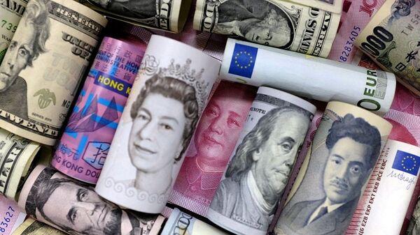 euro, dolar, sterlin, yen - Sputnik Türkiye