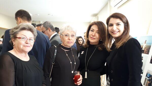 Andrey Karlov'un eşi Marina Karlova - Sputnik Türkiye