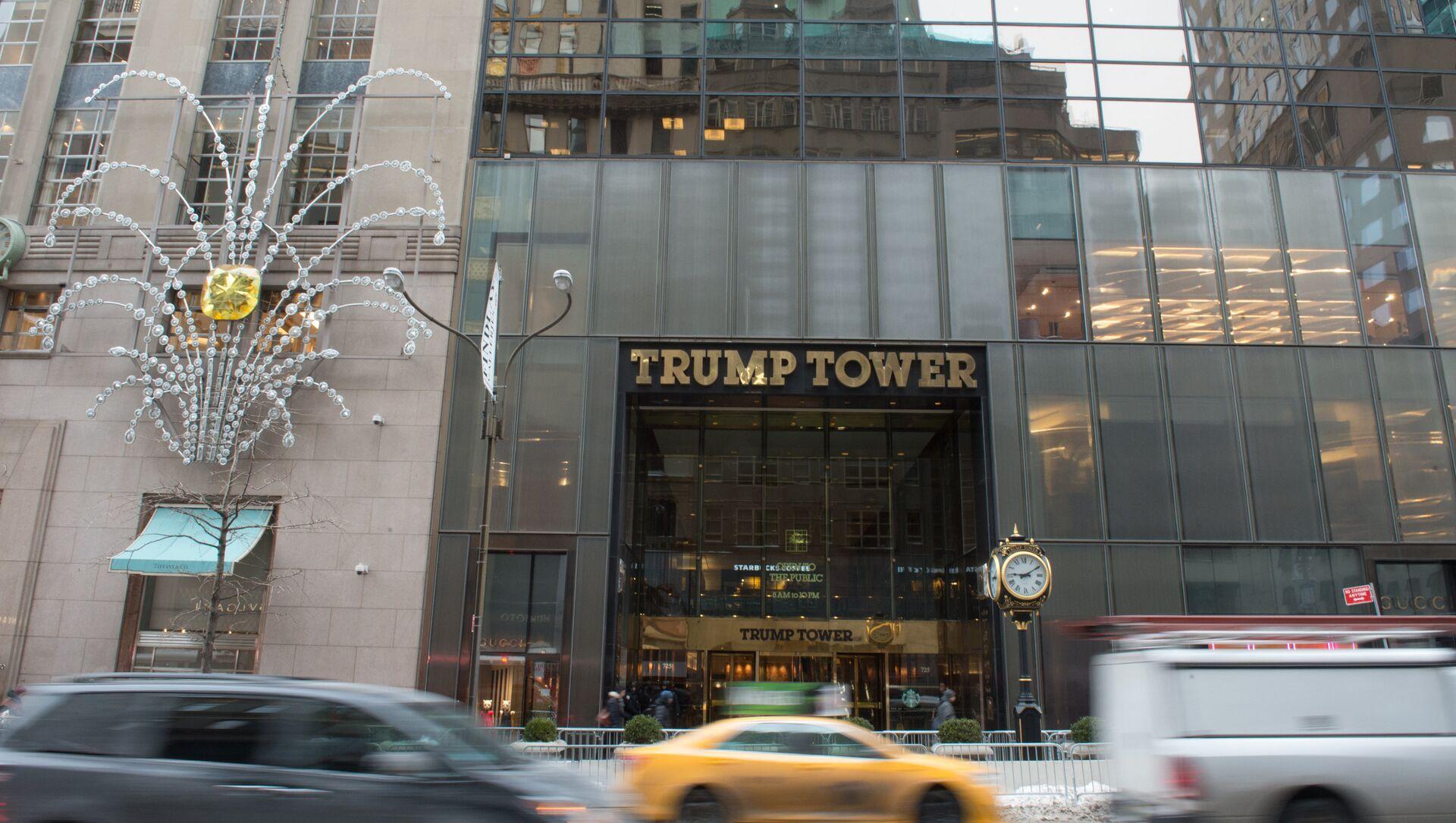 Trump Tower Fifth Avenue New York - Sputnik Türkiye, 1920, 19.05.2021