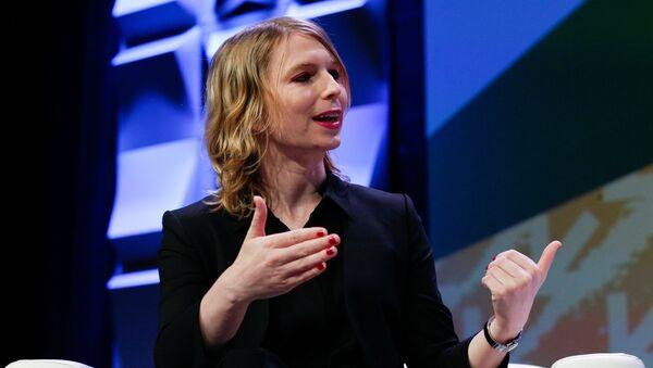 Chelsea Manning, South by Southwest festival, Austin, Texas, 13 Mart 2018 - Sputnik Türkiye