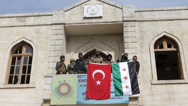Afrin şehir merkezi, TSK-ÖSO - Sputnik Türkiye
