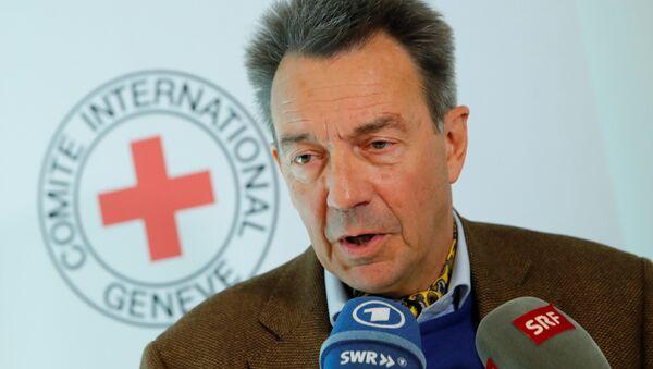 Uluslararası Kızlhaç Komitesi (ICRC) Başkanı Peter Maurer - Sputnik Türkiye