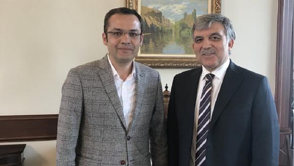 Ali Aktaş - Abdullah Gül - Sputnik Türkiye