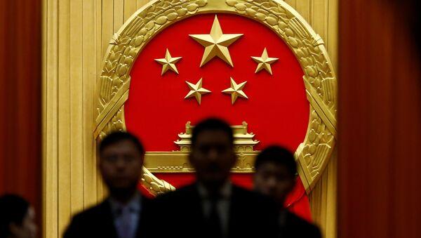 Çin Pekin Ulusal Halk Kongresi - Sputnik Türkiye