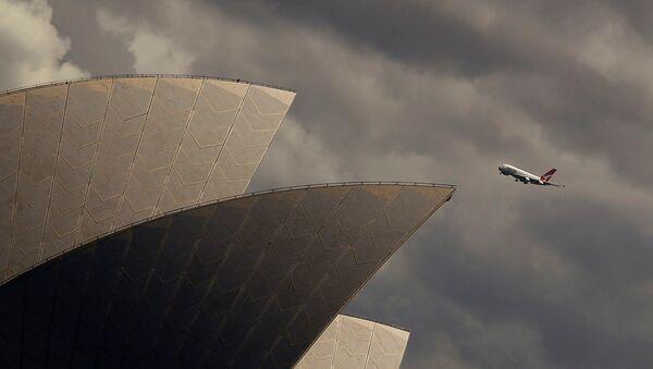 Avustralya havayolu şirketi Qantas - Sputnik Türkiye