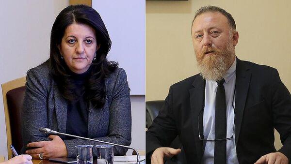 Pervin Buldan, Sezai Temelli, HDP - Sputnik Türkiye