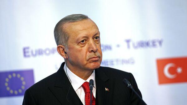 Cumhurbaşkanı Recep Tayyip Erdoğan, Avrupa Birliği (AB) - Sputnik Türkiye