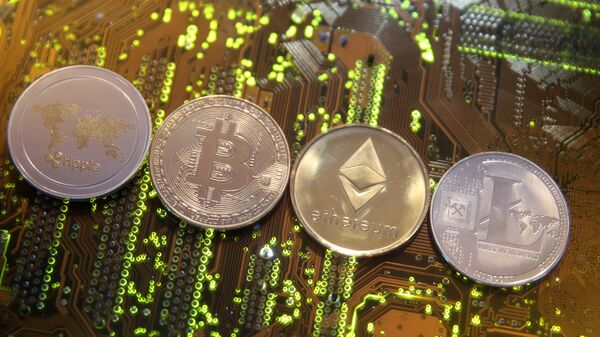 Dijital para birimleri Ripple,Bitcoin, Etherum ve Litecoin - Sputnik Türkiye