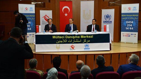 Suriyeliler için danışma merkezi açıldı - Sputnik Türkiye