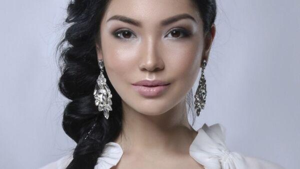 Miss Kazakistan  2018 yarışmacıları - Sputnik Türkiye
