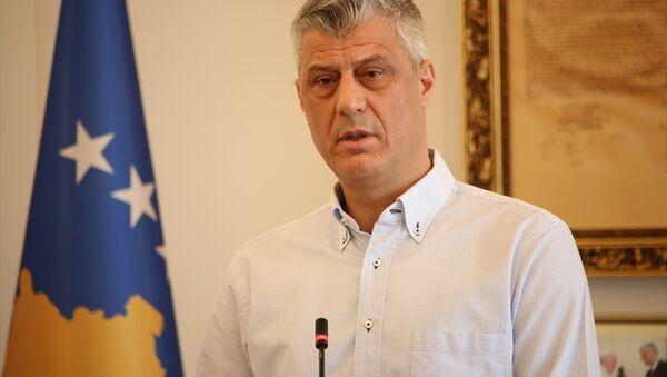 Kosova Cumhurbaşkanı Haşim Thaçi - Sputnik Türkiye