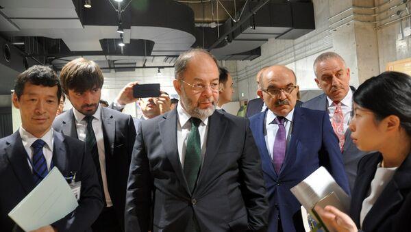 Başbakan Yardımcısı Recep Akdağ, Japonya temasları kapsamında afetlerle mücadele ve acil yardım konularında bu ülkedeki uygulamalara ilişkin bilgi alarak incelemelerde bulundu. - Sputnik Türkiye