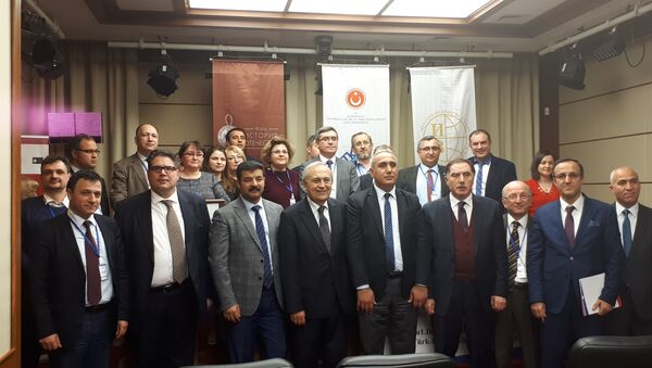 """""""I. Dünya Savaşı ve XX. Yüzyılın Başında Türk-Rus İlişkileri"""" konferansına katılanlar - Sputnik Türkiye"""