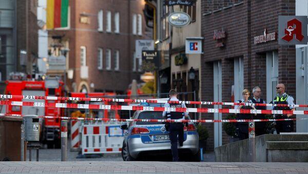 Almanya'nın Münster kentinde araçlı saldırı - Sputnik Türkiye