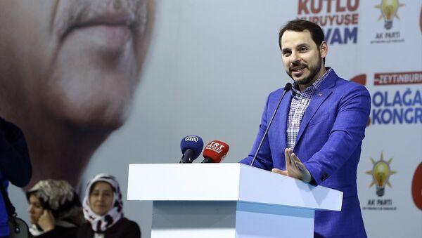 Enerji Bakanı Berat Albayrak - Sputnik Türkiye