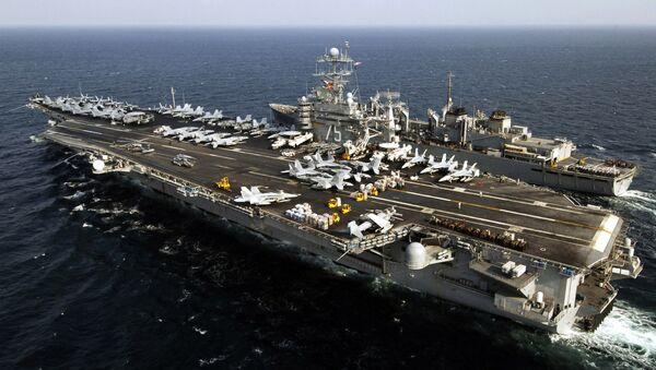 ABD Donanmasının USS Harry Truman Uçak Gemisi - Sputnik Türkiye
