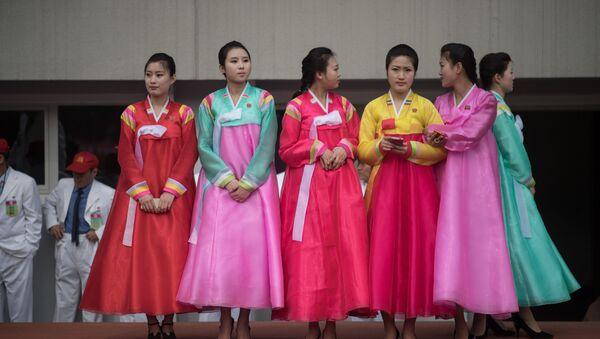 Kuzey Kore'deki etkinliklerden görüntüler - Sputnik Türkiye