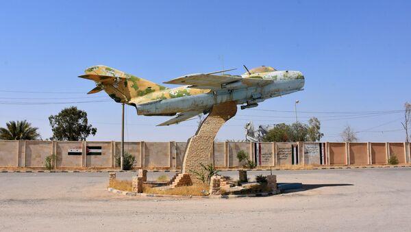 Suriye Deyr ez Zor askeri havaalanı - Sputnik Türkiye