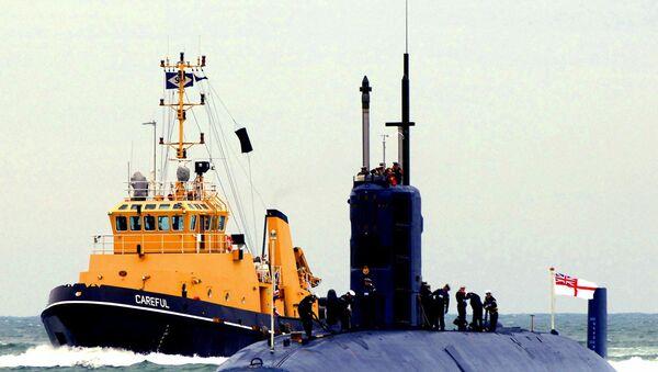 İngiltere denizaltısı - Sputnik Türkiye