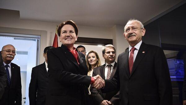 Kemal Kılıçdaroğlu, Meral Akşener - Sputnik Türkiye