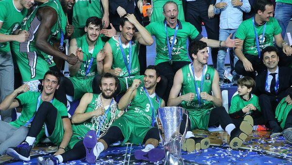 EuroCup şampiyonu Darüşşafaka - Sputnik Türkiye