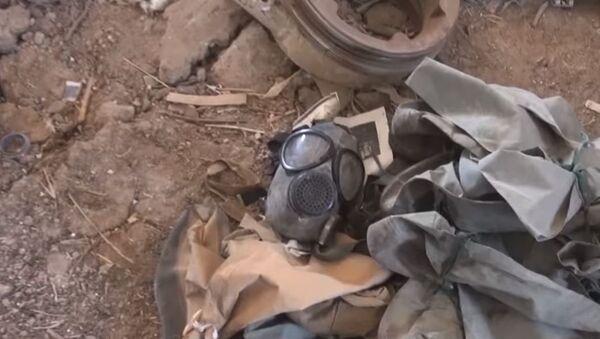 Suriye ordusunun ele geçirdiği kimyasal laboratuvar - Sputnik Türkiye