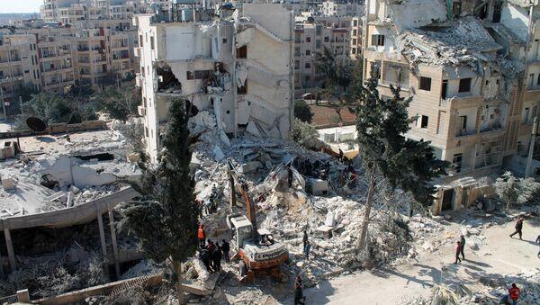 Syrian northwestern city of Idlib. - Sputnik Türkiye