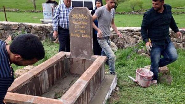 Ölmeden mezar taşını yaptırana yüzde 50 indirim - Sputnik Türkiye