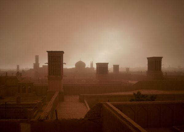 İran'da kum fırtınası - Sputnik Türkiye