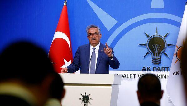 AK Parti Genel Başkan Yardımcısı Hayati Yazıcı - Sputnik Türkiye