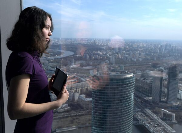 Moskova'da bulunan Avrupa'nın en yüksek seyir terası - Sputnik Türkiye
