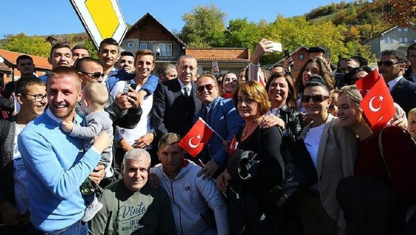 Novi Pazar'dan Cumhurbaşkanı Erdoğan'a fahri hemşehrilik - Sputnik Türkiye