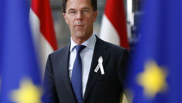 Hollanda Başbakanı Mark Rutte - Sputnik Türkiye