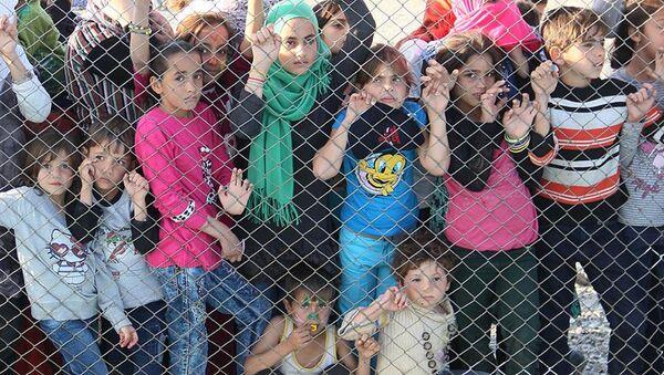 Sığınmacı çocuklar - Sputnik Türkiye