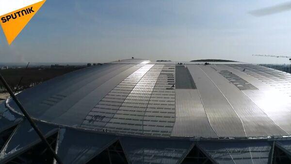 Dünya Kupası stadyumlarından biri Samara Arena - Sputnik Türkiye