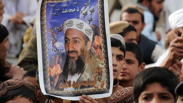 2 Mayıs 2012, Usame bin Ladin'in öldürülmesinin 1. yıldönümü, Pakistan, Keta, Taliban yanlısı parti JUI-N gösterisi - Sputnik Türkiye