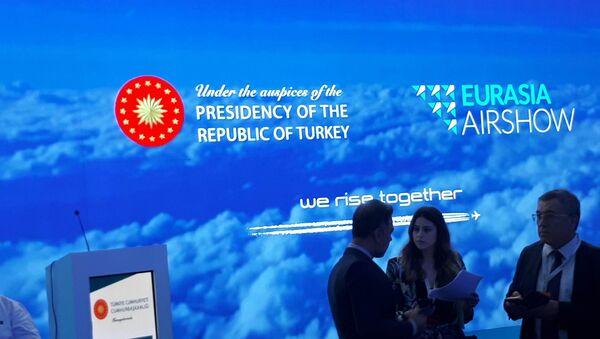 Havacılık fuarı Eurasia Airshow - Sputnik Türkiye