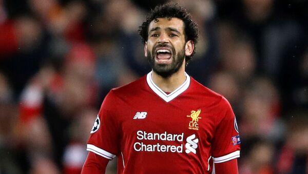 Liverpool'un Mısırlı yıldızı Muhammed Salah - Sputnik Türkiye
